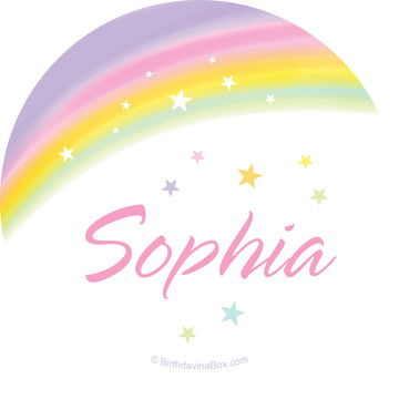 Dreamy Unicorn Personalized Mini Stickers (Sheet of 24)