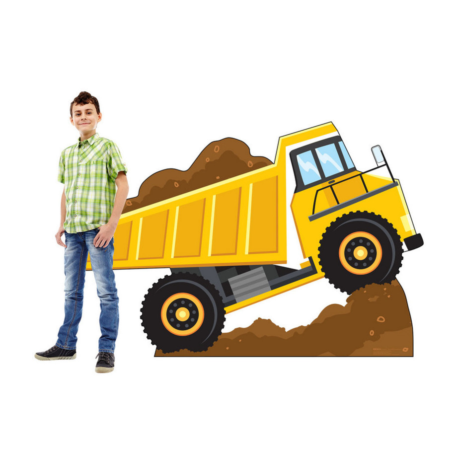 View larger image of Dump Truck Construction Standee