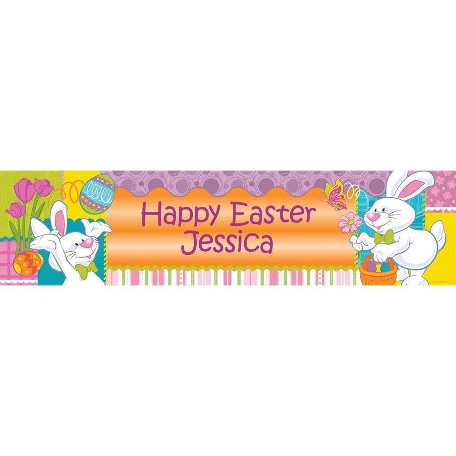 View larger image of Easter Personalized Banner (Each)