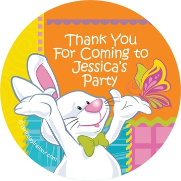 Easter Personalized Stickers (Each)