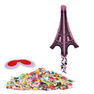 Eiffel Tower 3D Pinata Kit