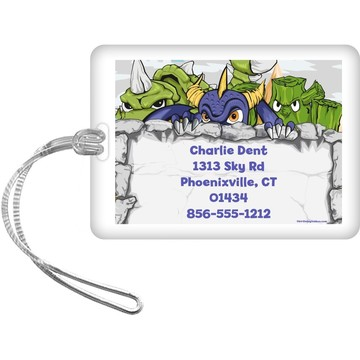 Elements Force Personalized Luggage Tag (Each)