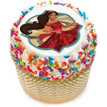 """Elena of Avalor 2"""" Edible Cupcake Topper (12 Images)"""