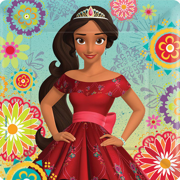 """Elena of Avalor 7"""" Cake Plate (8 Count)"""