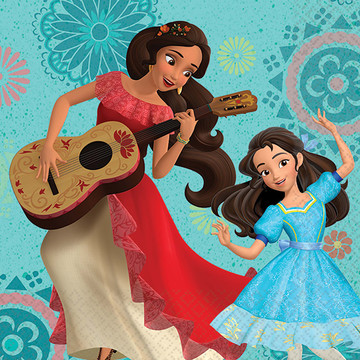 Elena of Avalor Beverage Napkins (16 Count)