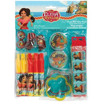 Elena of Avalor Mega Mix Favor Pack (48 Pieces)