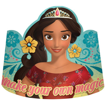 Elena of Avalor Paper Tiaras (8 Count)
