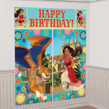 Elena of Avalor Scene Setter Wall Decorating Kit
