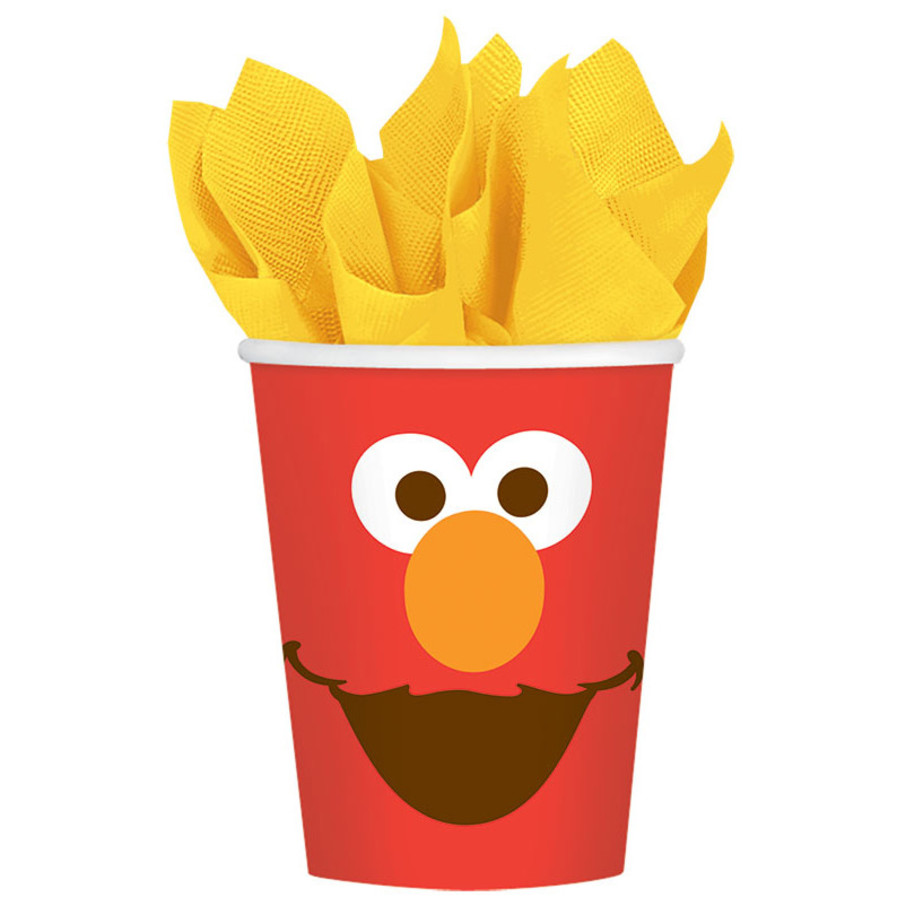 View larger image of Elmo Paper 9oz Cups (8 Count)