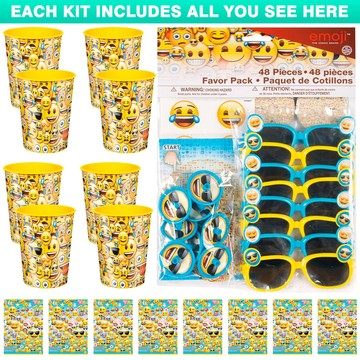 Emoji Favor Kit (For 8 Guests)