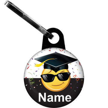 Emoji Graduation Personalized Zipper Pull (Each)