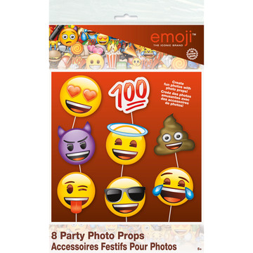 Emoji Photo Props (8 Count)