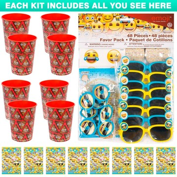 Emoji Poop Favor Kit (For 8 Guests)