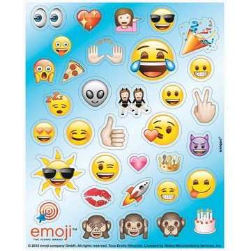 Emoji Stickers (4 Sheets)