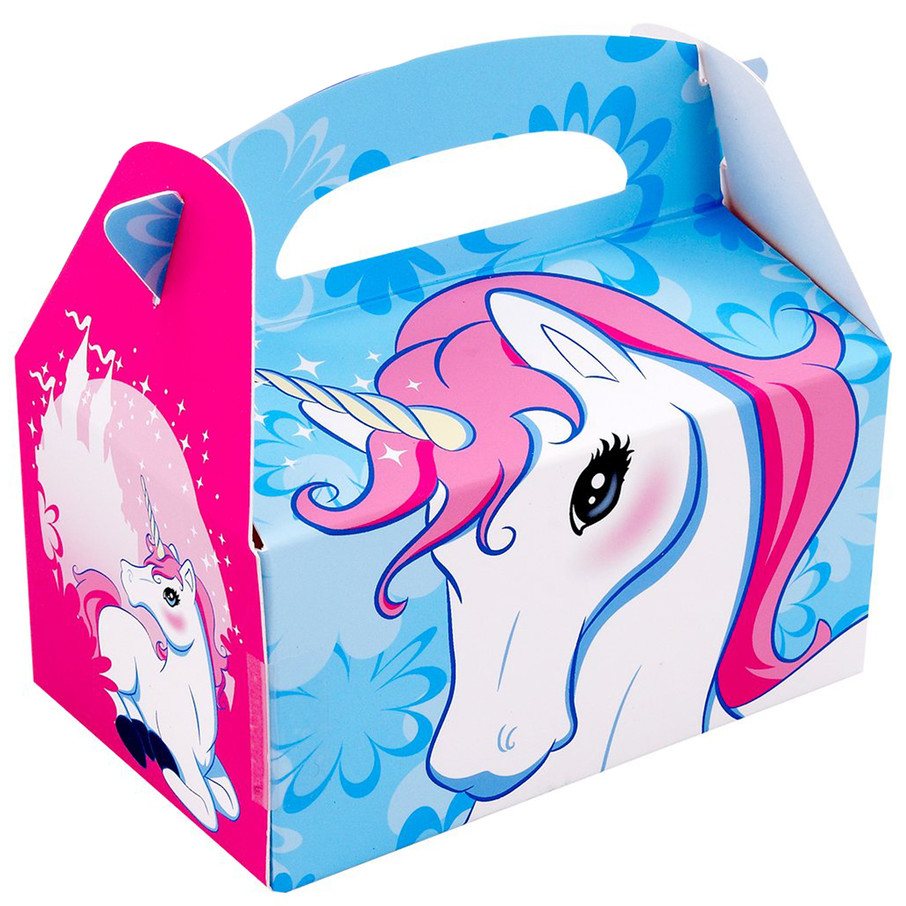 View larger image of Enchanted Unicorn Empty Favor Boxes