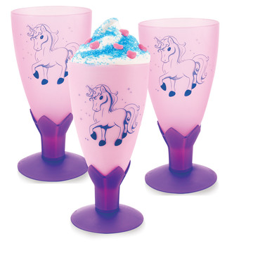 Enchanted Unicorn Molded Cup Goblet