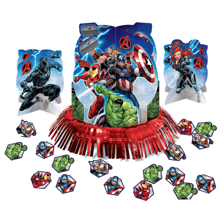 View larger image of Epic Avengers Table Decorating Kit
