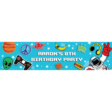 Epic Birthday Personalized Banner (Each)