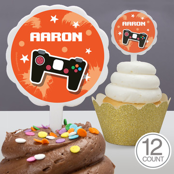 Epic Birthday Personalized Cupcake Picks (12 Count)
