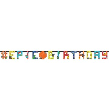 Epic Party Jumbo Add-An-Age Letter Banner