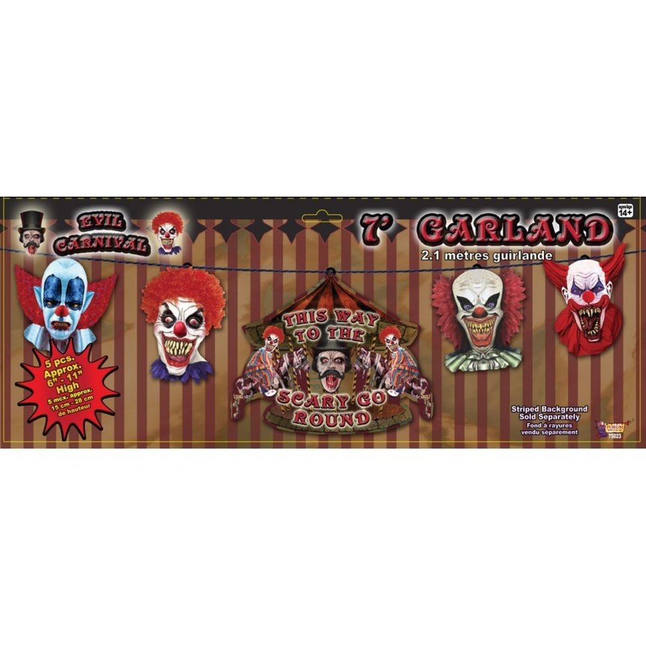 View larger image of Evil Carnival Garland