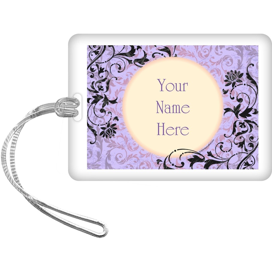 View larger image of Evil Heirs Personalized Bag Tag (Each)