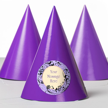 Evil Heirs Personalized Party Hats (8 Count)