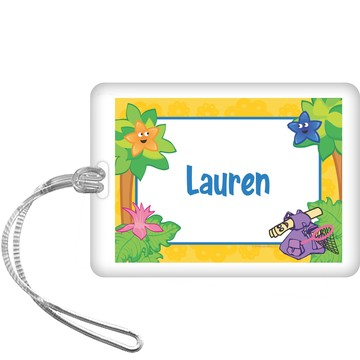 Explorer Friends Personalized Bag Tag (each)