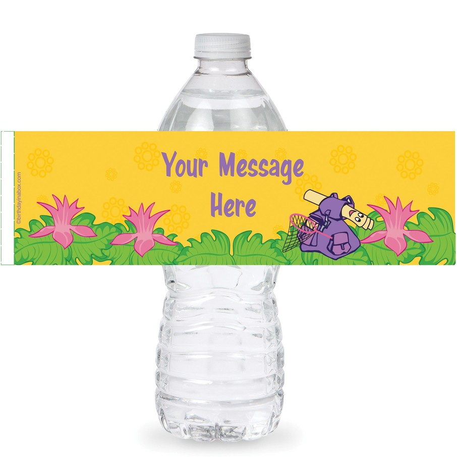 View larger image of Explorer Friends Personalized Bottle Labels (Sheet of 4)