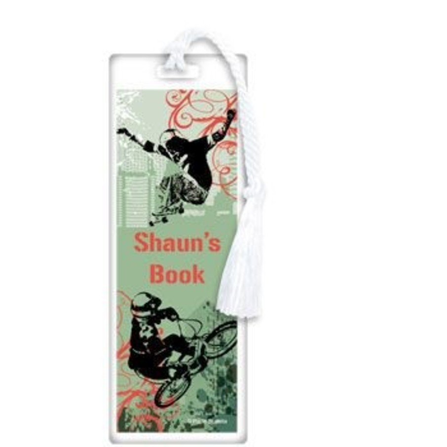 View larger image of Extreme Sports Personalized Bookmark (each)