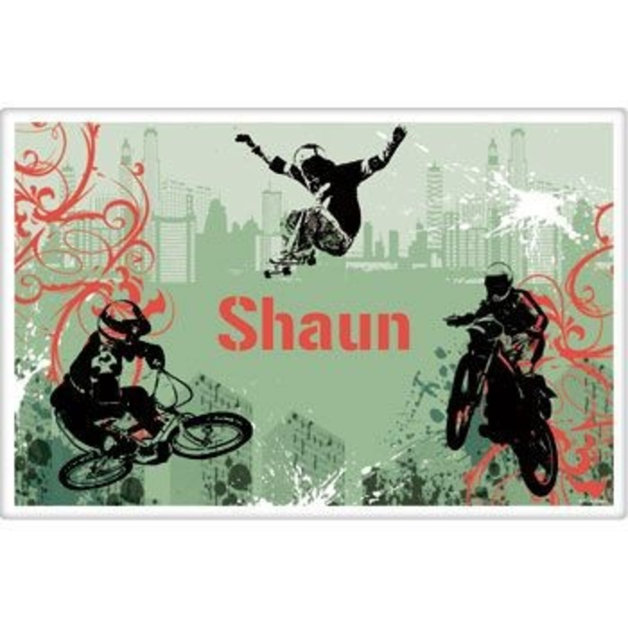 View larger image of Extreme Sports Personalized Placemat (each)