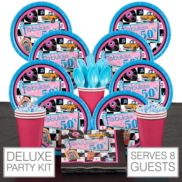 Fabulous 50's Deluxe Kit (Serves 8)
