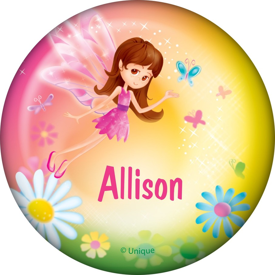 View larger image of Fairy Birthday Party Personalized Button (each)