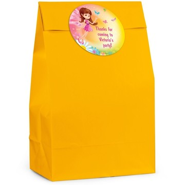 Fairy Birthday Personalized Favor Bag (Set Of 12)