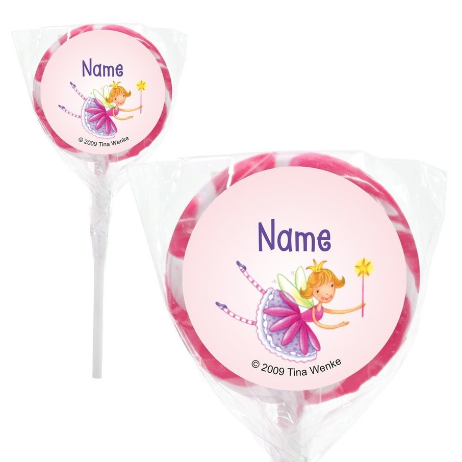 """View larger image of Fairy Party Personalized 2"""" Lollipops (20 Pack)"""