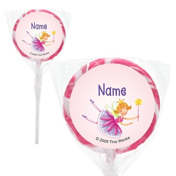 "Fairy Party Personalized 2"" Lollipops (20 Pack)"