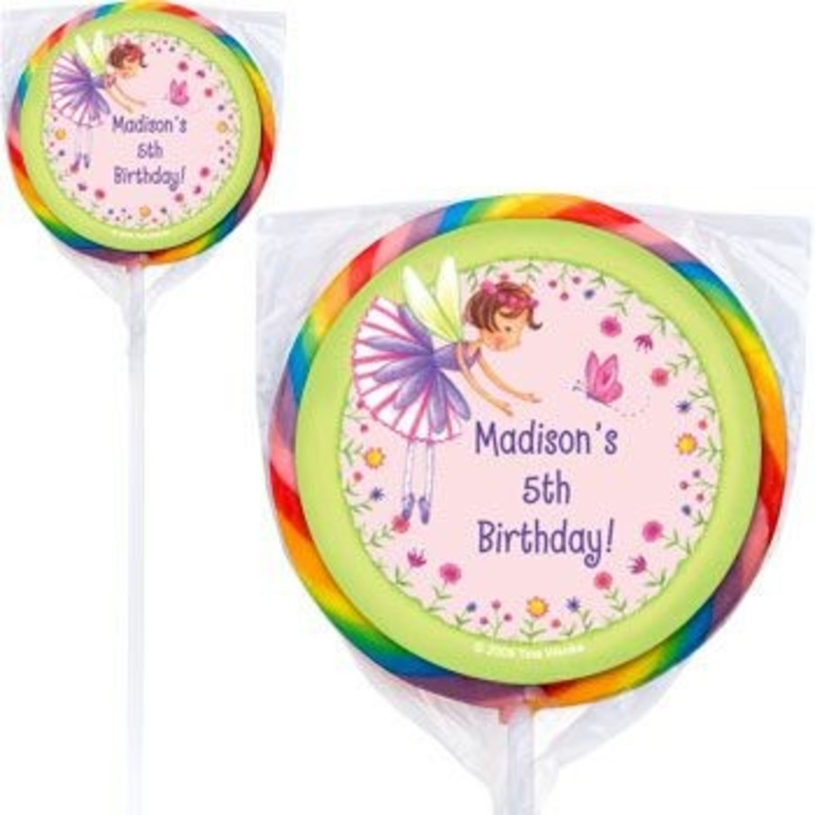 View larger image of Fairy Party Personalized Lollipops (pack of 12)