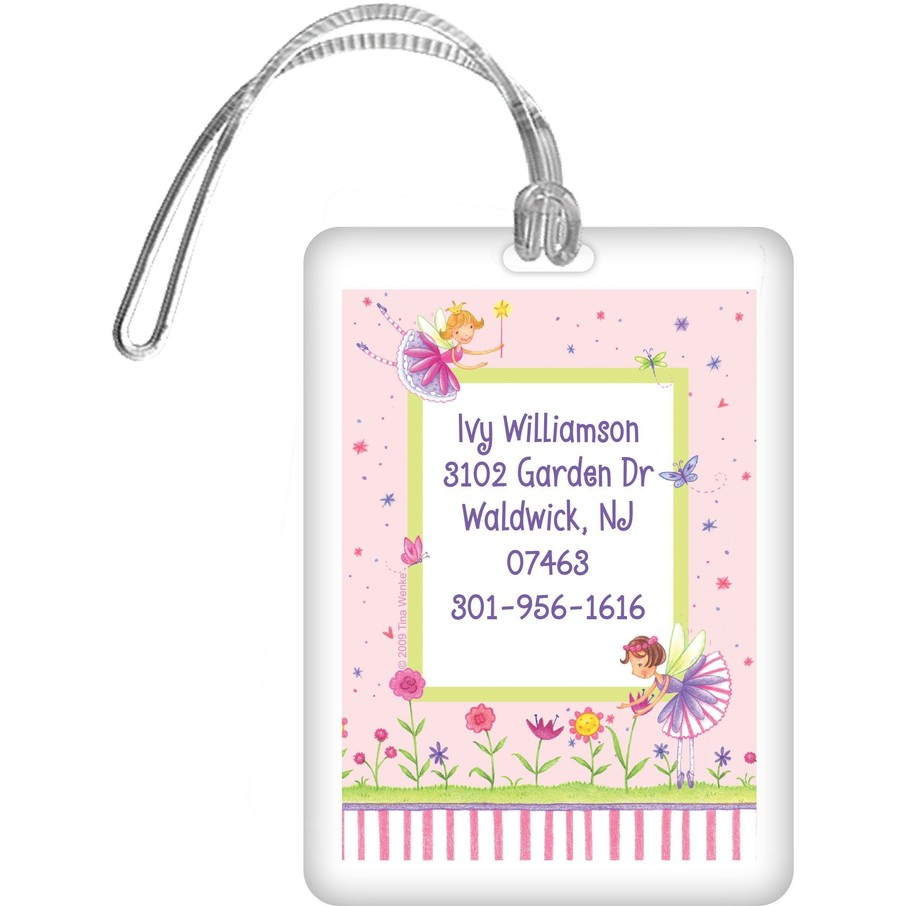View larger image of Fairy Party Personalized Luggage Tag (each)