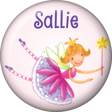 Fairy Party Personalized Mini Button (Each)