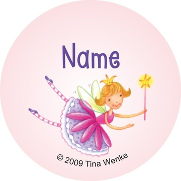 Fairy Party Personalized Mini Stickers (Sheet of 24)