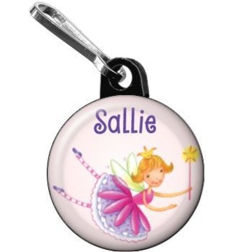 Fairy Party Personalized Mini Zipper Pull (each)