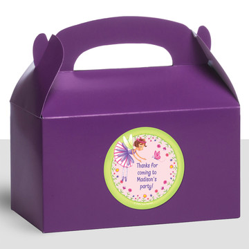 Fairy Party Personalized Treat Favor Boxes (12 Count)