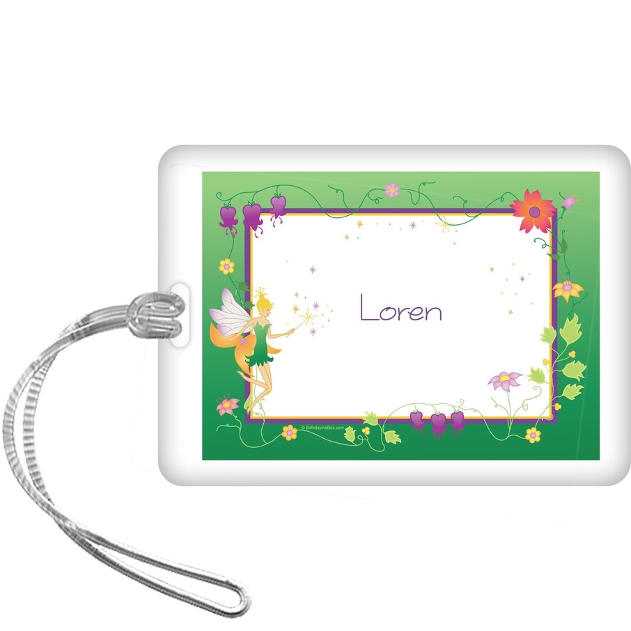 View larger image of Fairy Personalized Bag Tag (each)
