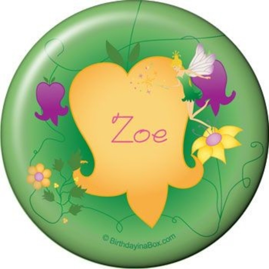 View larger image of Fairy Personalized Button (each)