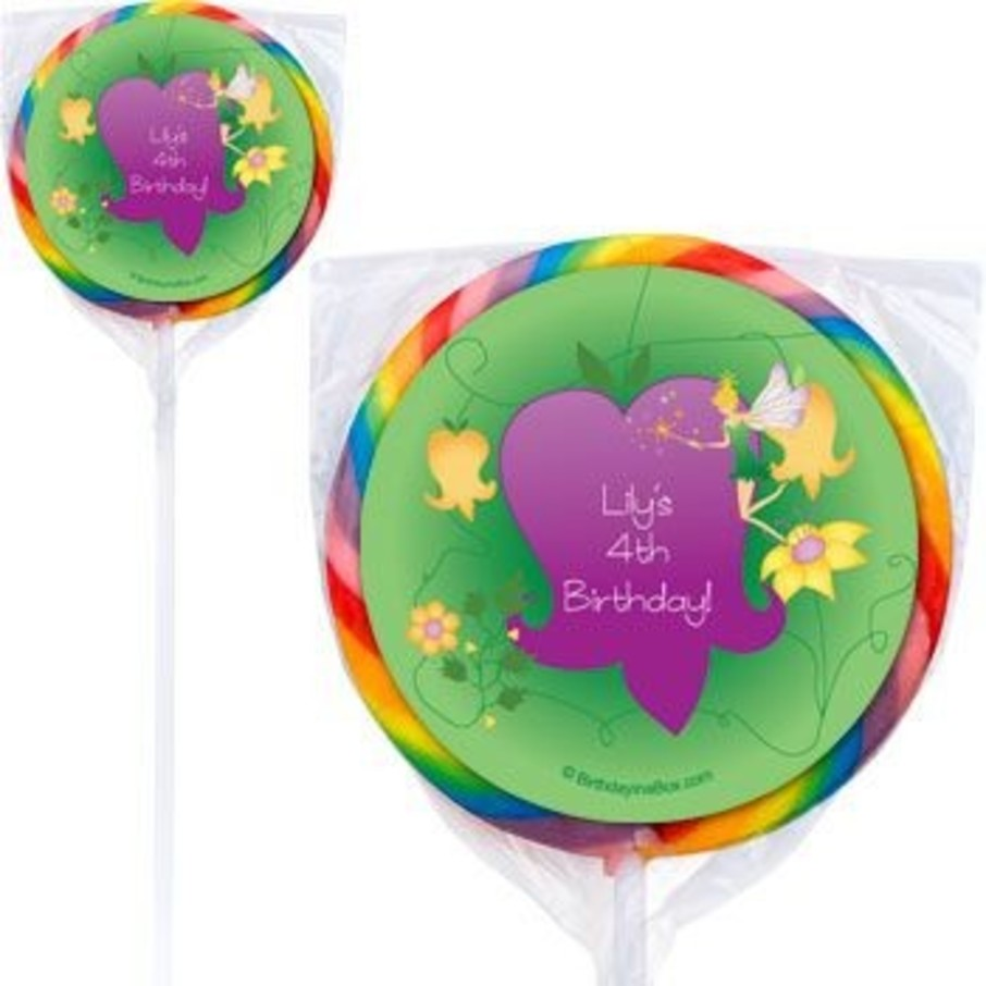 View larger image of Fairy Personalized Lollipops (pack of 12)