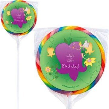 Fairy Personalized Lollipops (pack of 12)
