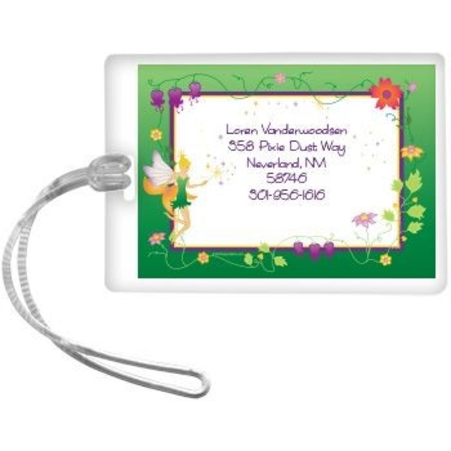 View larger image of Fairy Personalized Luggage Tag (each)