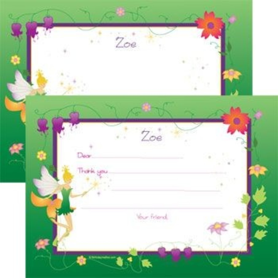 View larger image of Fairy Personalized Thank You Note (each)
