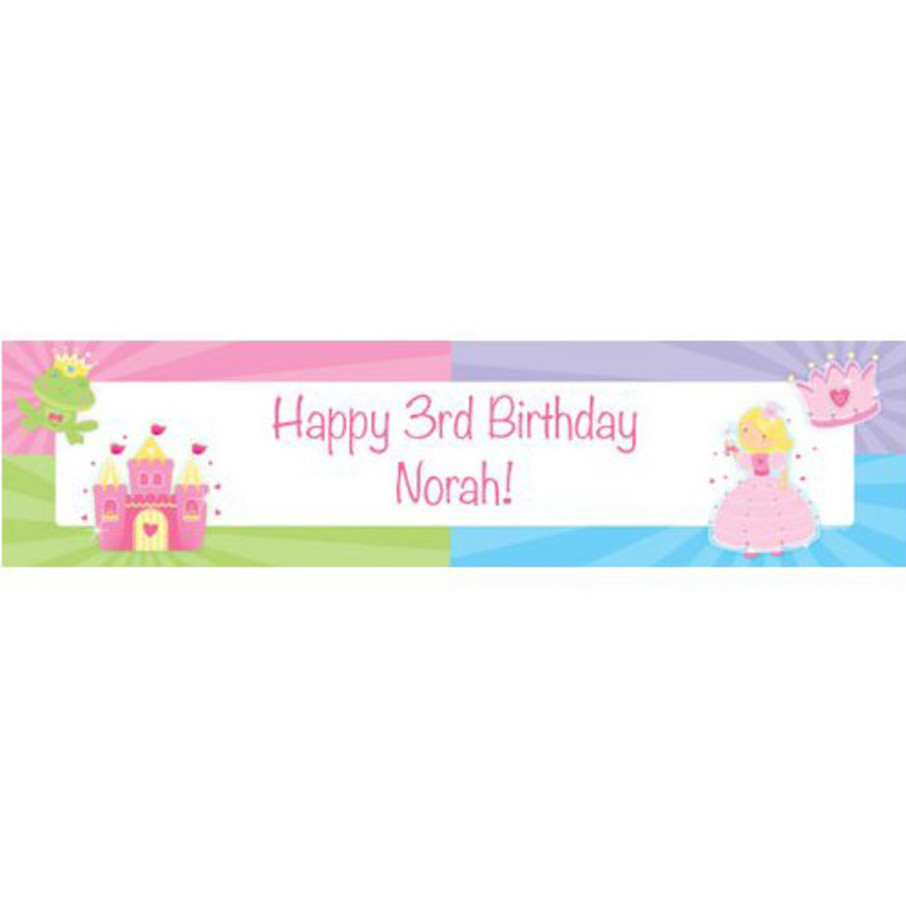 View larger image of Fairytale Princess Personalized Banner (each)
