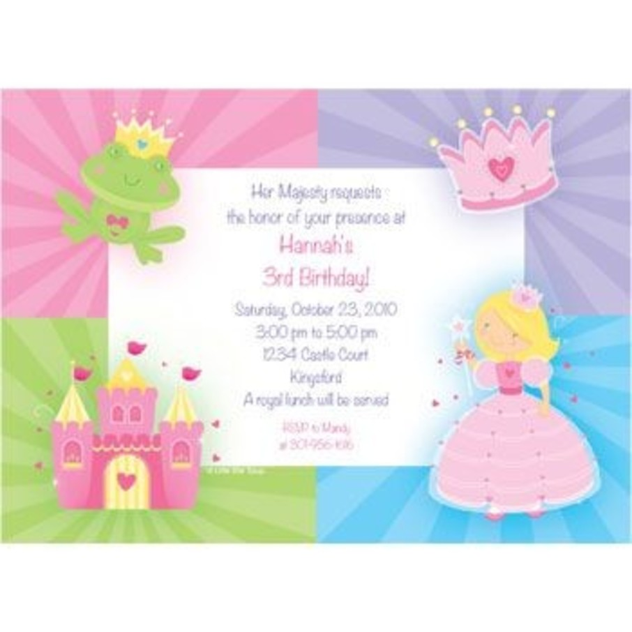 View larger image of Fairytale Princess Personalized Invitation (each)